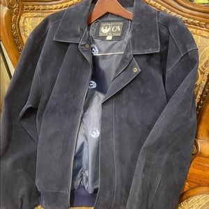 Collection CA made in Italy genuine Suude jacket